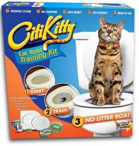 Citti kitty toilet training kit
