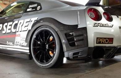 Nissan GTR R35 GTR35 Top Secret Rear Wide Fender
