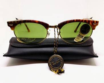 NOS Rayban Oval Clubmaster RB-3