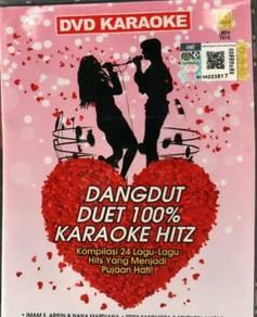DVD Dangdut Duet 100% Karaoke Hitz Yang Tersayang