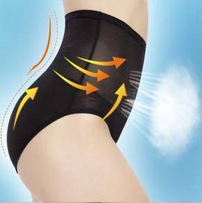 3 Pcs High Waist Flatten Tummy Shaping Panties
