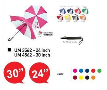 Payung Umbrella for Sport Activities Boleh Cetak