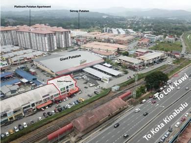 2 Units Adjoining Putatan Plaza Shoplot with 4.13 % Rental Yield