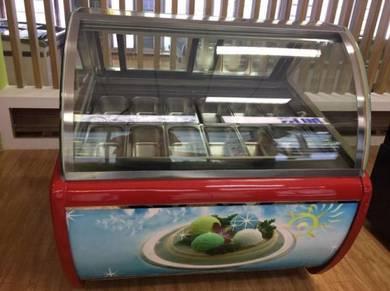 Brand New Ice Cream Showcases