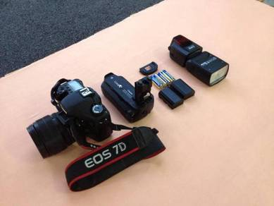 Canon EOS 7D Full Set ( Plug and Play )