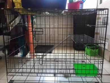 2 sangkar kucing untuk diletgo