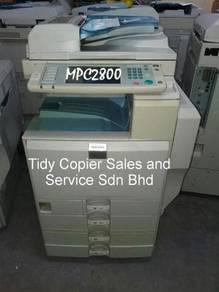 Ricoh copier machine color mpc2800