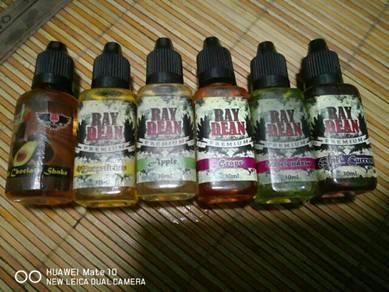 Vape flavour brand ray bean