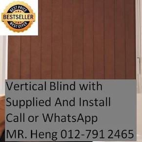 Easy Use Vertical Blind - with installation h76f65