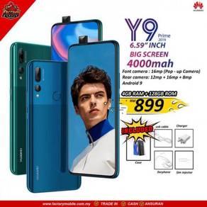 Huawei y9 prime [4 128GB] Msia Set Gift