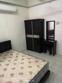 Melaka Bukit beruang fully furnish aircond room