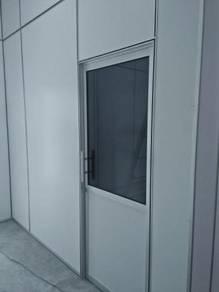 Kerja partition dan aluminium