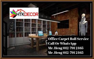 Modern Plain Design Carpet Roll With Install TC87