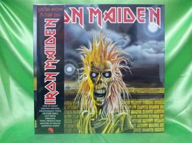 Iron Maiden 1st 2012 EMI Picture Disc LP