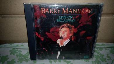 CD Barry Manilow - Live On Broadway