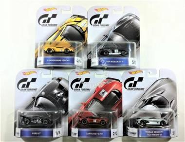 Hot Wheels 2016 Retro Gran Turismo Set of 5pcs