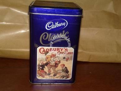 Kotak cadbury container tin box