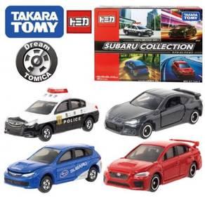 Takara Tomy Tomica Diecast Subaru Collection Set