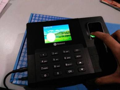 Time attendance punch in out fingerprint