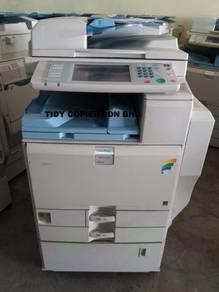 Machine copier color mpc3300 best sale market