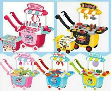Storage trolley toyset