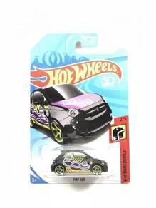 Hotwheels 2018 Fiat 500 #2 Black