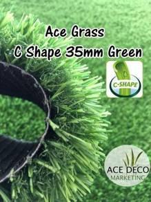 SALE C35mm GREEN Artificial Grass / Rumput Tiruan
