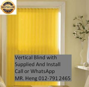 Design Vertical Blind - With install h8g76f
