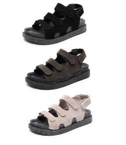 7988 New Flat Velcro Sandal