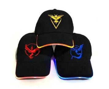 Pokemon Go LED Cap/Hat