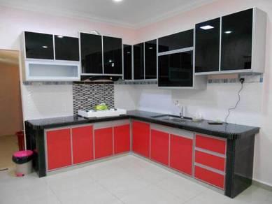 Kabinet dapur buat rumah