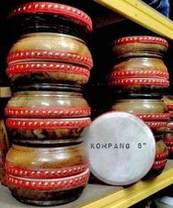 Kompang Kulit Kambing - Saiz 8 inci