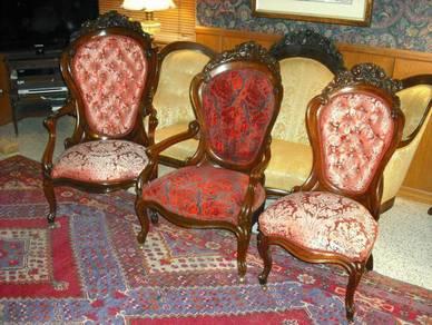 Victorian 3. RoseWood Belter Laminated Rosalie