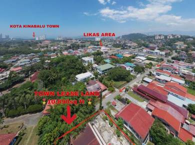 Tl 10,890 bungalow | detached land dah yeh villa damai kota kinabalu