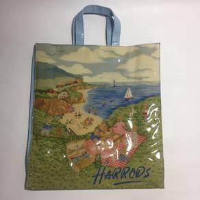 Harrods London Canvas tote bag