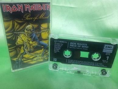 Iron Maiden PEACE OF MIND 1983 cassette EMI UK