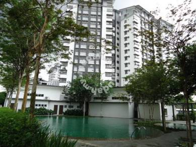 Kota Kemuning, Lagoon Suites Condominium, 700sf, P/Furnish, Low Floor