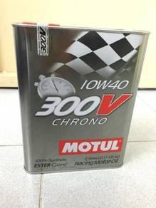 MOTUL 300V Chrono 10W40 - 2 Liter Engine Oil