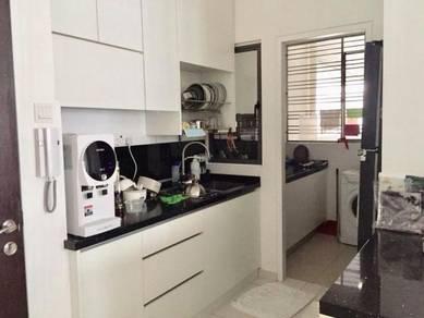 Season Garden 3 rooms renovated FURNSIED Kitchen cabinet nice unit
