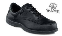 Safety Shoes Red Wing Women Low Cut Black ST 2330