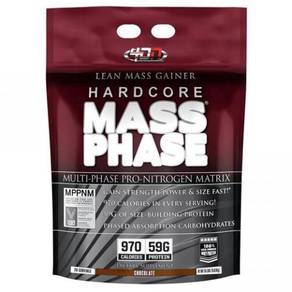 4D hardcore mass phase mass gainer build muscle