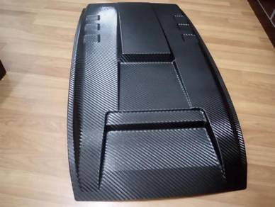 Ford ranger t6 t7 carbon fiber bonet scoop