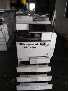 Best value price mpc4502 photostat machine color