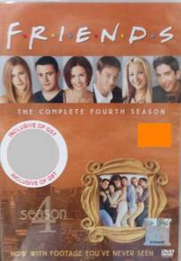 DVD Friends The Complete Fourth Season