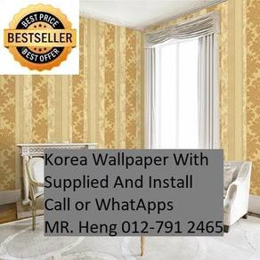 HOTDeal Design with Wall paper for Place 3hr923
