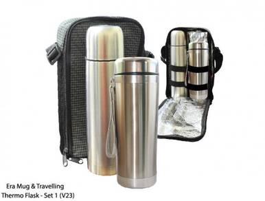 Era Mug & Travelling Thermo Flask Set - Set 1 (V23