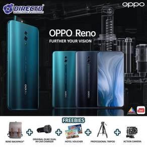 OPPO RENO (6GB RAM | 256GB ROM)ORI set + 5 HADIAH