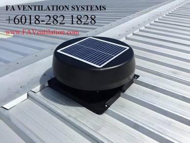 Solar Roof Attic Ventilator Fan DUNGUN KEMAMAN KT