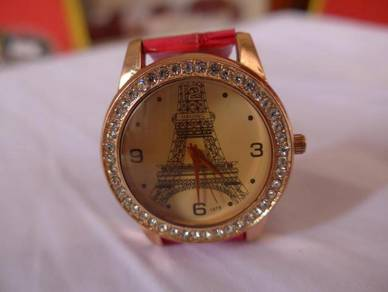 Eiffel Tower 1978 Quartz Watch