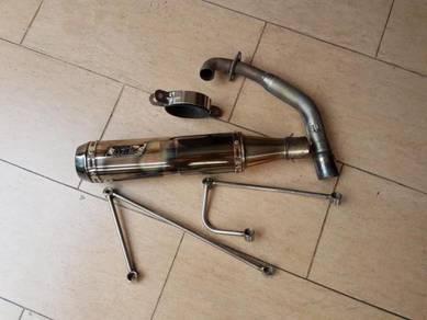 MAC MRD exhaust gilera runner rst vxr 200 nexus
